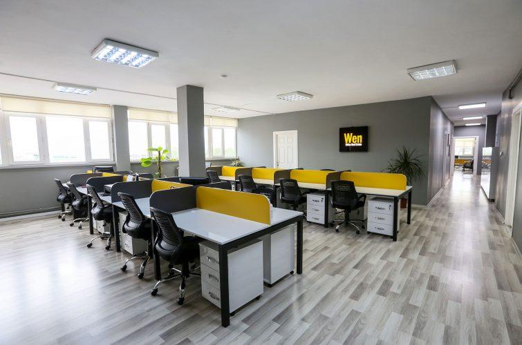 coworking sapace, ortak ofis çalışma alanı